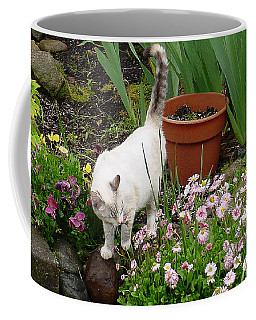 Stop To Smell Flowers Coffee Mug