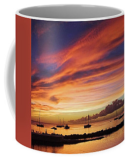 Store Bay, Tobago At Sunset #view Coffee Mug
