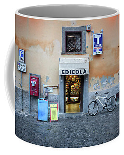 Storefront In Rome Coffee Mug