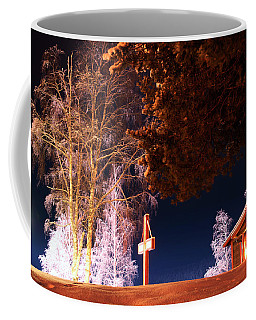 Storforsen In The Night Coffee Mug