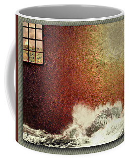 Storm Against The Walls Coffee Mug
