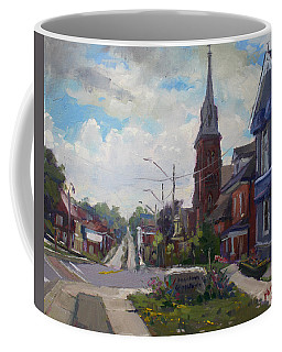 Storm Approach Over Downtown Georgetown Coffee Mug