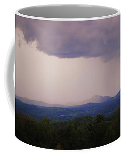 Storm At Lewis Fork Overlook Coffee Mug