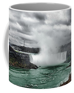 Storm At Niagara Coffee Mug