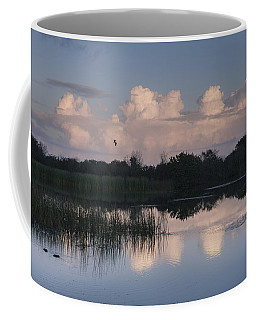 Storm At Sunrise Over The Wetlands Coffee Mug
