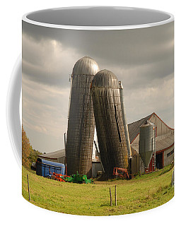 Storm At The Farm Coffee Mug