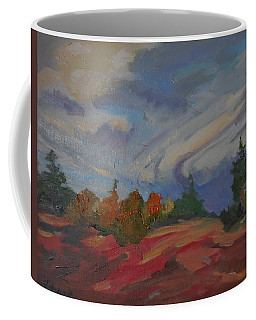 Storm Cell Coffee Mug by Francine Frank