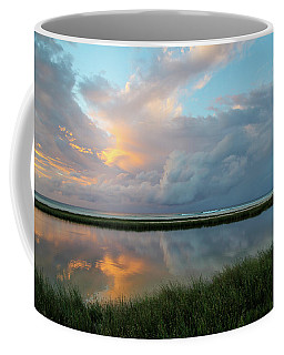 Storm Cloud Reflections At Sunset Coffee Mug
