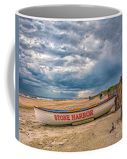 Storm Clouds In Stone Harbor Coffee Mug