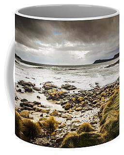 Storm Clouds Over Cloudy Bay Coffee Mug