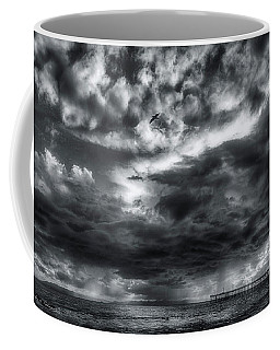 Storm Clouds Ventura Ca Pier Coffee Mug