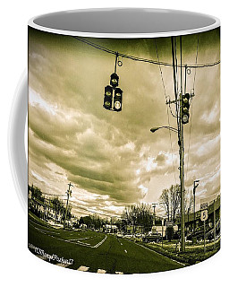Storm Coming Coffee Mug by MaryLee Parker