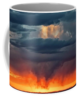 Storm Light Beam, Albuquerque, New Mexico Coffee Mug