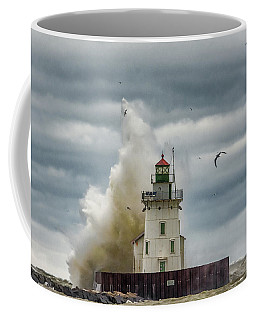 Storm On Lake Erie Coffee Mug