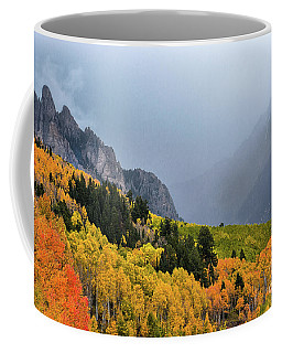 Storm On Million Dollar Highway Coffee Mug
