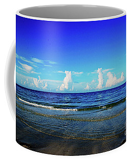 Coffee Mug featuring the photograph Storm On The Horizon by Gary Wonning