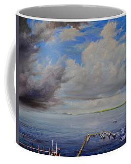Storm On The Indian River Coffee Mug