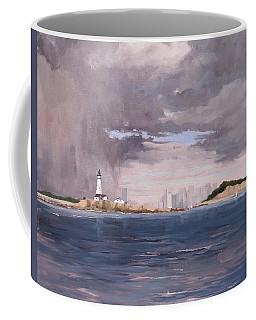 Storm Over Boston Coffee Mug