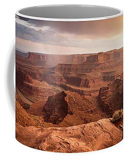Storm Over Canyonlands Coffee Mug