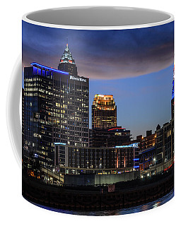 Storm Over Cleveland Coffee Mug