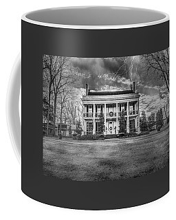 Coffee Mug featuring the photograph Storm Over Loyd Hall Plantation by Andy Crawford