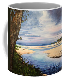 Storm Over Moona Moona Creek Coffee Mug