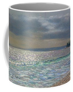 Storm Over Queensland Beach ,nova Scotia Coffee Mug