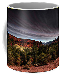 Storm Over Sedona Coffee Mug