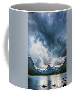 Storm Over Swiftcurrent Lake Coffee Mug