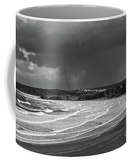 Coffee Mug featuring the photograph Storm  Over The Bay by Nicholas Burningham