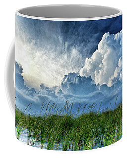 Storm Over The Dunes Coffee Mug