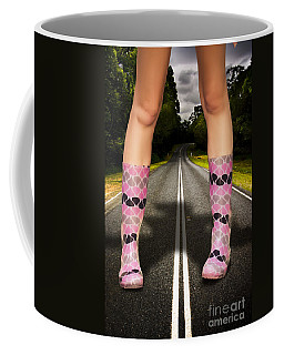 Storm Road Leads To Big Rain And Bad Weather Coffee Mug