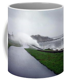 Coffee Mug featuring the photograph Storm Wall by Lon Casler Bixby