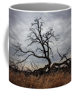 Coffee Mug featuring the photograph Storms Make Trees Take Deeper Roots  by Viviana  Nadowski