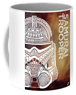 Stormtrooper Helmet - Brown - Star Wars Art Coffee Mug