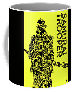 Stormtrooper - Yellow - Star Wars Art Coffee Mug