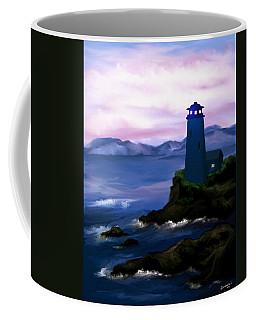 Stormy Blue Night Coffee Mug