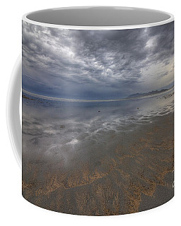 Stormy Clouds Over Antelope Island Coffee Mug