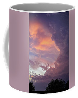 Coffee Mug featuring the photograph Stormy Clouds Over Texas by Ken Stanback