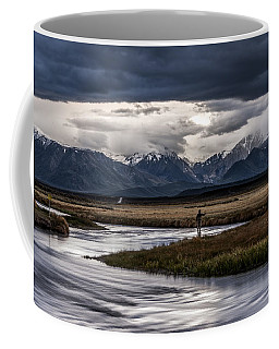 Stormy Day Of Fishing Coffee Mug