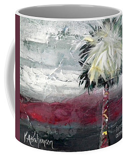 Stormy Horizons Palm Tree Coffee Mug