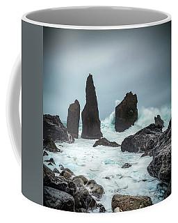 Stormy Iclandic Seas Coffee Mug