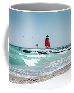 Stormy Lake Coffee Mug