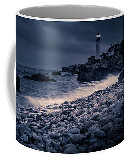 Stormy Lighthouse 2 Coffee Mug