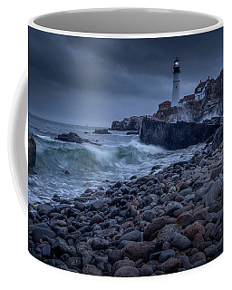 Stormy Lighthouse Coffee Mug