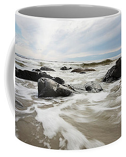 Stormy Maine Morning #3 Coffee Mug