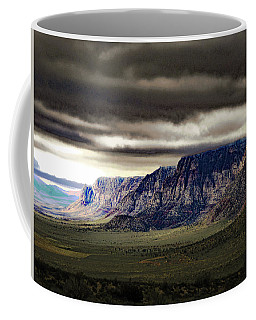 Stormy Morning In Red Rock Canyon Coffee Mug