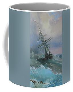 Stormy Sails Coffee Mug