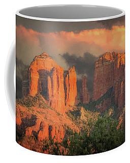 Stormy Sedona Sunset Coffee Mug