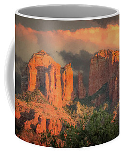 Stormy Sedona Sunset Coffee Mug